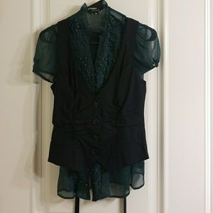 Very cute and flattering vest